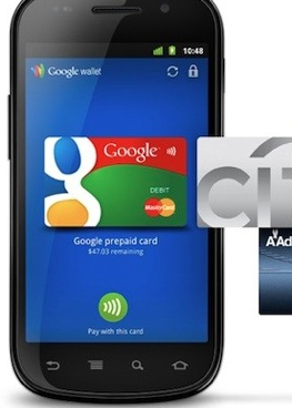 Google electronic wallet