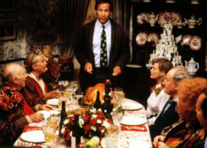 Chevy Chase Needs To Learn How to Cook the Turkey