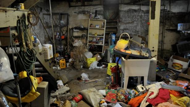 declutter basement Cleveland