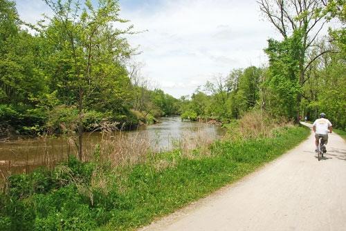 Biking Cuyahoga Valley