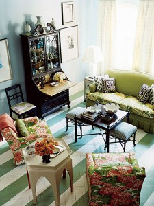 Painted Floors? Crazy or Beautiful?