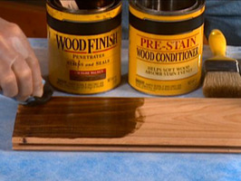 Make Unfinished Wood Pop with a Quick DIY Staining
