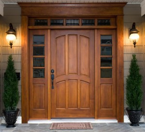 Wood Doors are Beautiful but Fiberglass and Steel Insulate Better