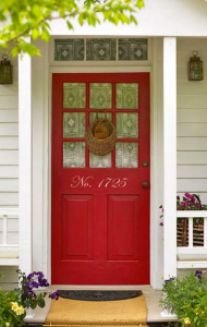 Noticeable House Numbers