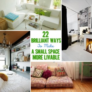 Check out Buzzfeed's ideas for making the most out of your small space!