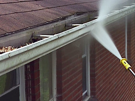 Tips on gutter cleaning, via DIY Network