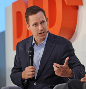 PayPal founder Peter Thiel