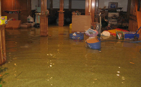 No Photoshop Here....Actual Basement Flood