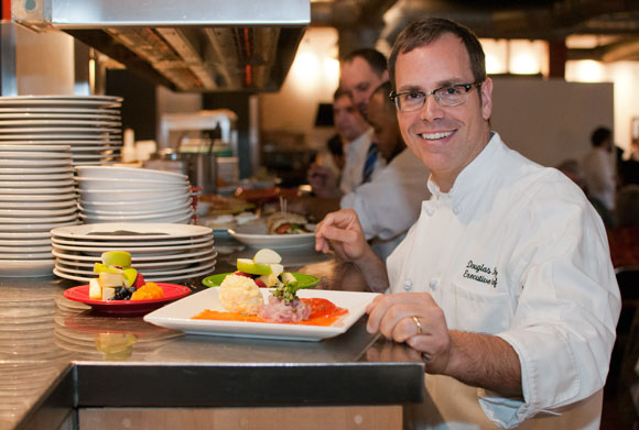 Local chef and restaurant owner, Doug Katz.
