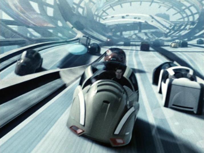 "Lexus ""Robocar"" with Tom Cruise in 2002 Minority Report © Twentieth Century Fox"